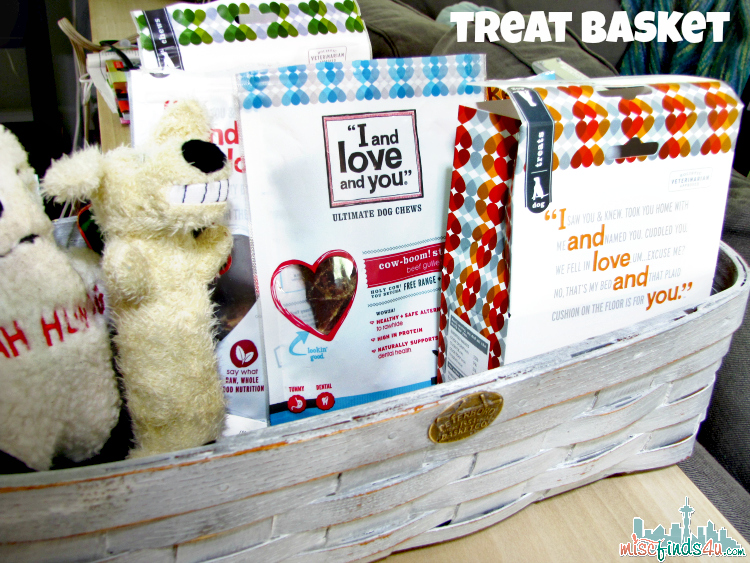 Grandma's Granddog Treat Basket  - ad