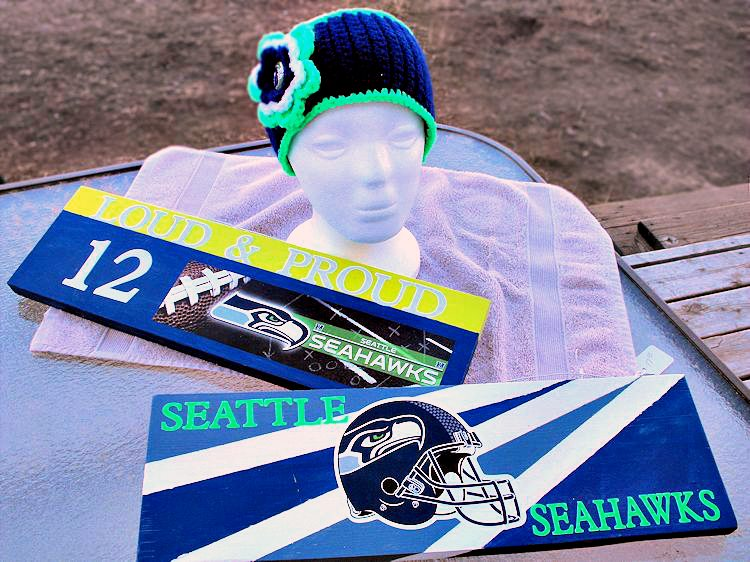 Seahawks Crafts