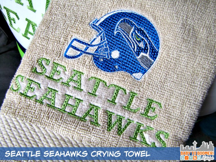 Seattle Seahawks Crying Towel