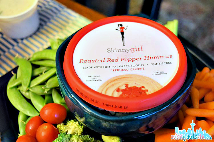 Skinnygirl Hummus: Roasted Red Pepper Helped Us Ditch the Ranch! #NowThisIsSkinnyDipping  ad
