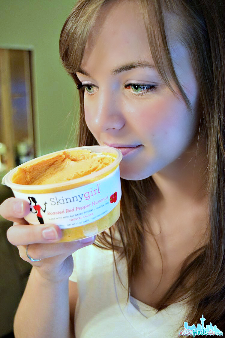 Skinnygirl Hummus - smells delicious Skinnygirl Hummus: Roasted Red Pepper Helped Us Ditch the Ranch! #NowThisIsSkinnyDipping