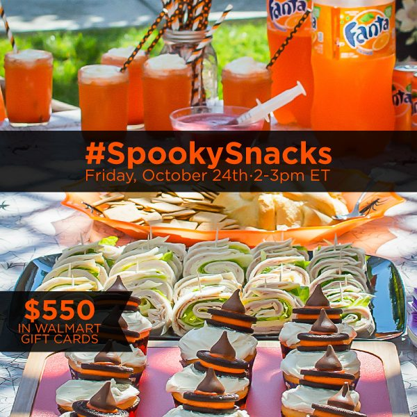 RSVP For #SpookySnacks Twitter Party 10/24