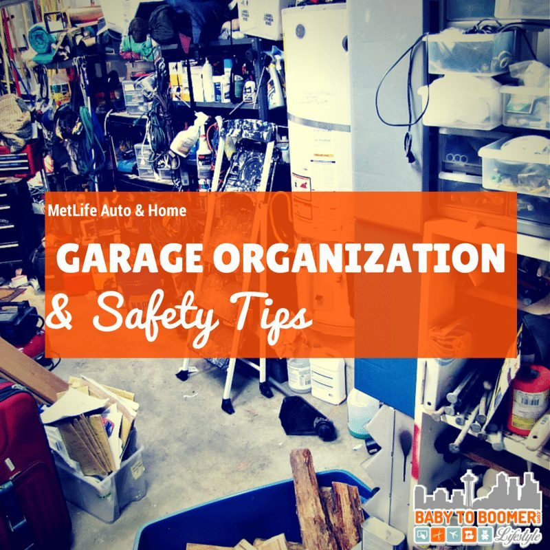 Garage Organization and Safety Tips #MasteringAuto @metlife #giveaway