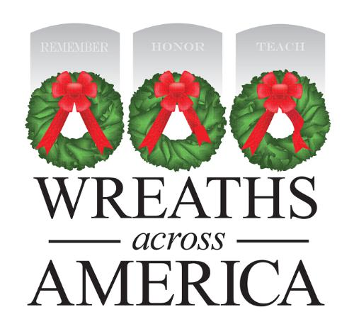 WREATHS ACROSS AMERICA - a $15 donation covers a veteran's grave for the holiday