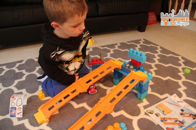 Mega Blox First Builders Fast Tracks - Mega Bloks Building Fun At Any Age #giveaway Ad