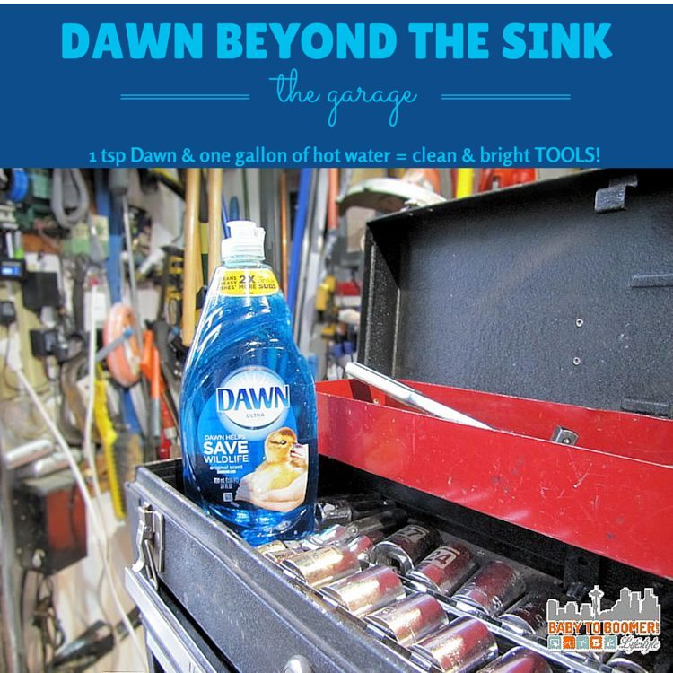 Dawn Cleaning Tips: Garage Uses #Giveaway #TwitterParty #DawnBeyondtheSink #DDDivas ad