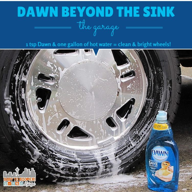 Dawn Cleaning Tips: Garage Uses -#DawnBeyondtheSink #DDDivas ad