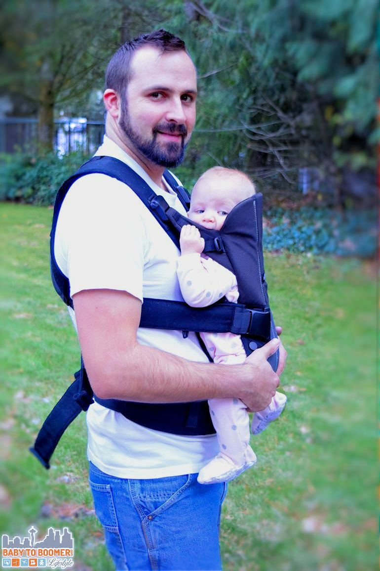 BabyBjorn Baby Carrier We: Comfort From Birth to Age 3 - a comfortable baby pack for you and your child to age 3 - ad