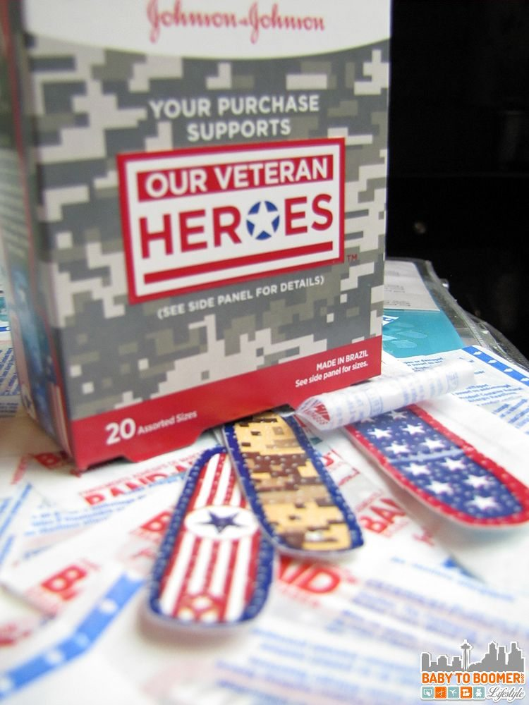 Bandaid Hereos Bandages -  BAND-AID Provides an Easy Way to Support Veterans  #RunWithGlory #MC #sponsored
