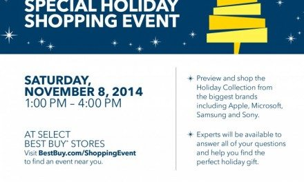 Best Buy Holiday Shopping Event – Let's Get the Season Started! @BestBuy #BBYShoppingEvent