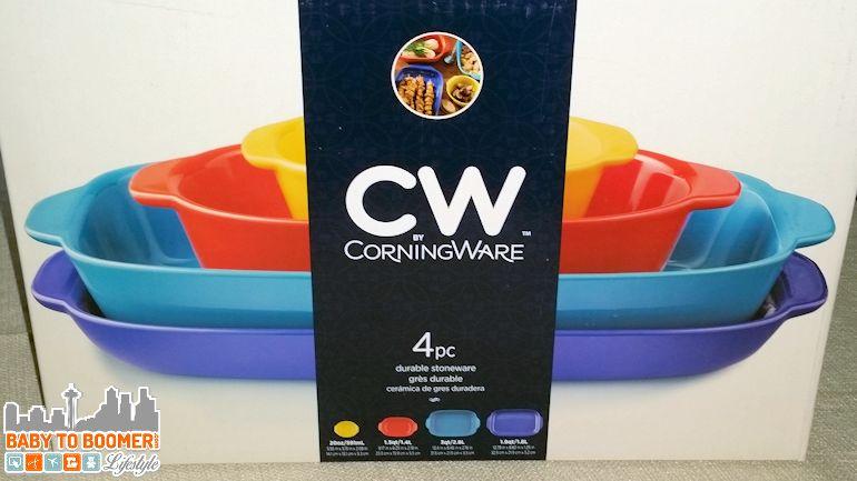 CW by CorningWare Stoneware - Colorful Kitchen Addition - ad