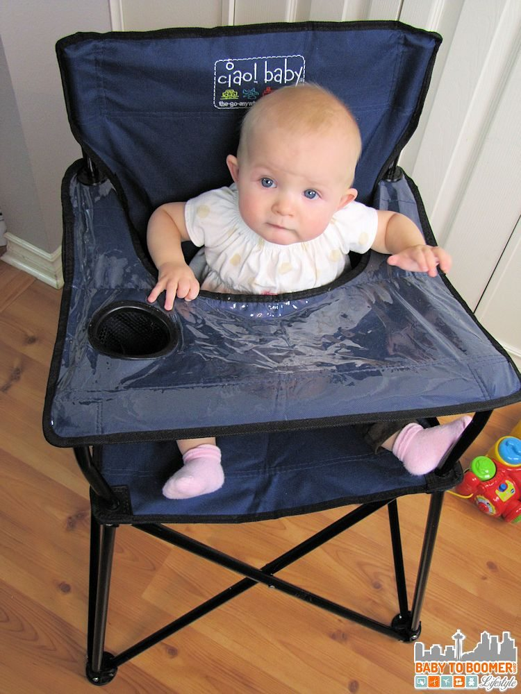 Ciao Baby Portable High Chair Perfect For On The Go Or Home