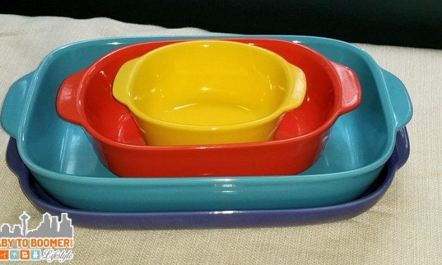 CW by CorningWare Stoneware – Colorful Kitchen Addition