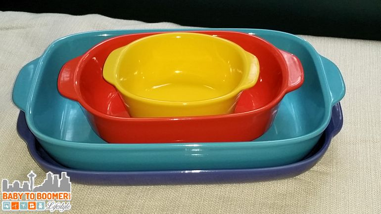 CW by CorningWare Stoneware – Colorful Kitchen Addition