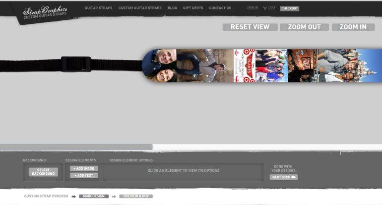 A look at the custom camera strap creation process.