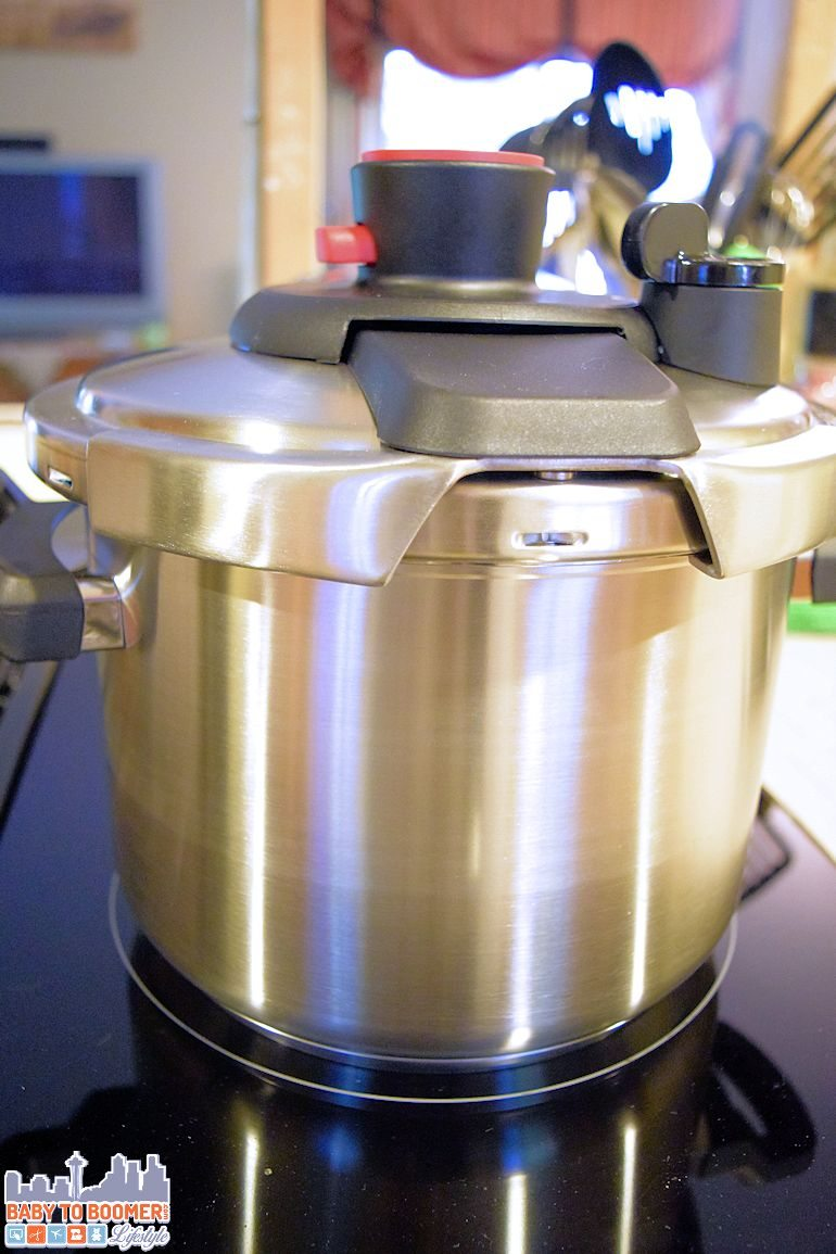 Making Baby Food in a Clipso Pressure Cooker from T-Fal  - ad