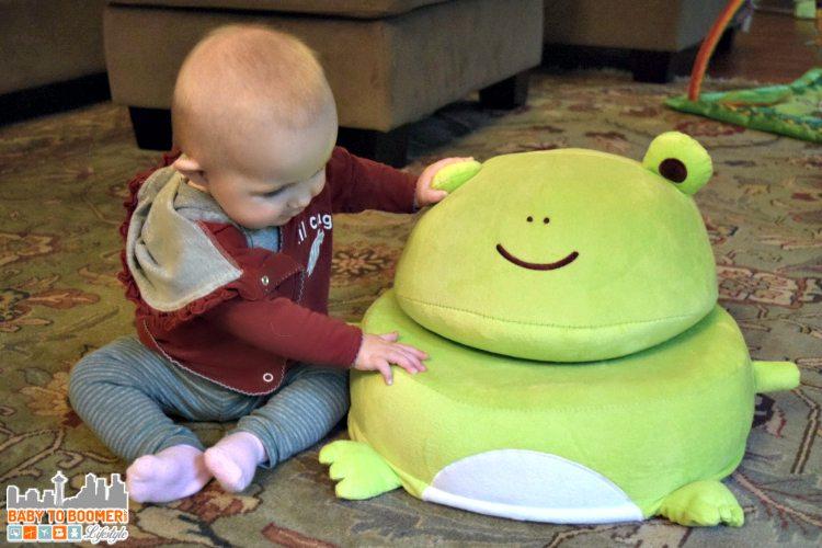 Frog Critter Cushion - ad