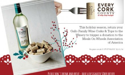 Gallo Family Vineyards' Every Cork Counts Benefits Meals on Wheels