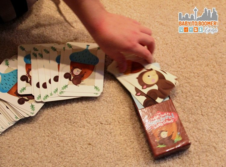 Educational Insights The Sneaky Snacky Squirrel Card Game - ad