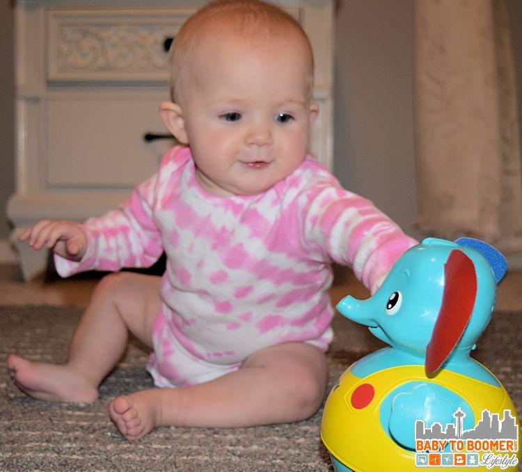 Infant Elephant Toy