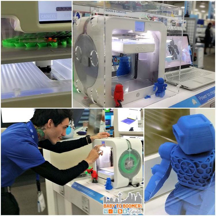 Intel Experience 3d Printer - Intel Technology Experience Zones Brings Access to Inspiration at Best Buy @BestBuy #IntelatBestBuy - ad