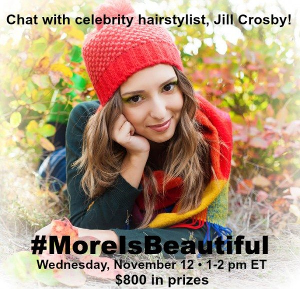 RSVP for the #MoreIsBeautiful Twitter Party