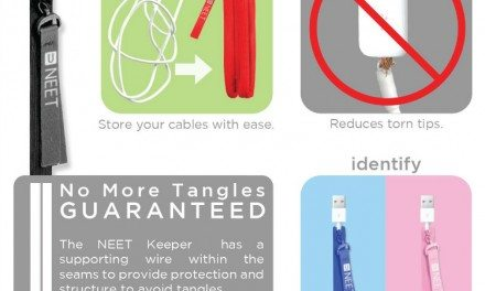 NEET Cable Keeper – Tame Those Cables and Cords!
