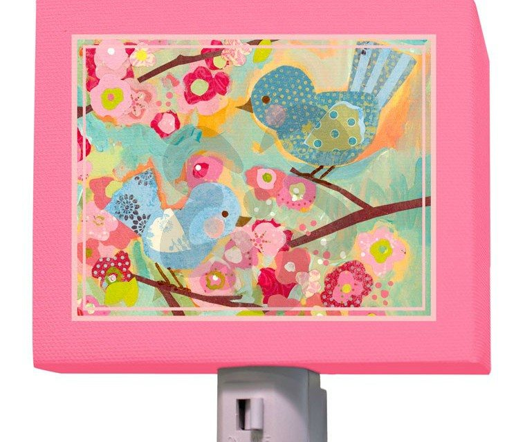 Oopsy Daisy Canvas Night Light – Personalized Art for Kids
