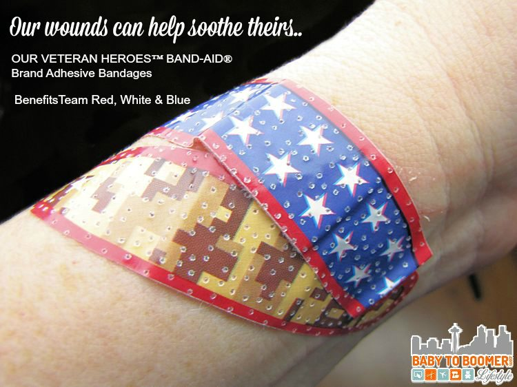 Our Veteran heroes BAND-Aids -  BAND-AID Provides an Easy Way to Support Veterans  #RunWithGlory #MC #sponsored