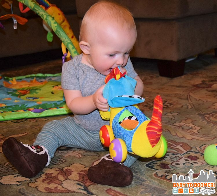 Baby Toys: Lamaze Pippin the Push Along Pup - ad