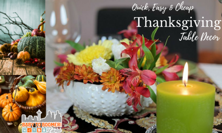 Quick, Easy & CHEAP Thanksgiving Table Decor in Minutes