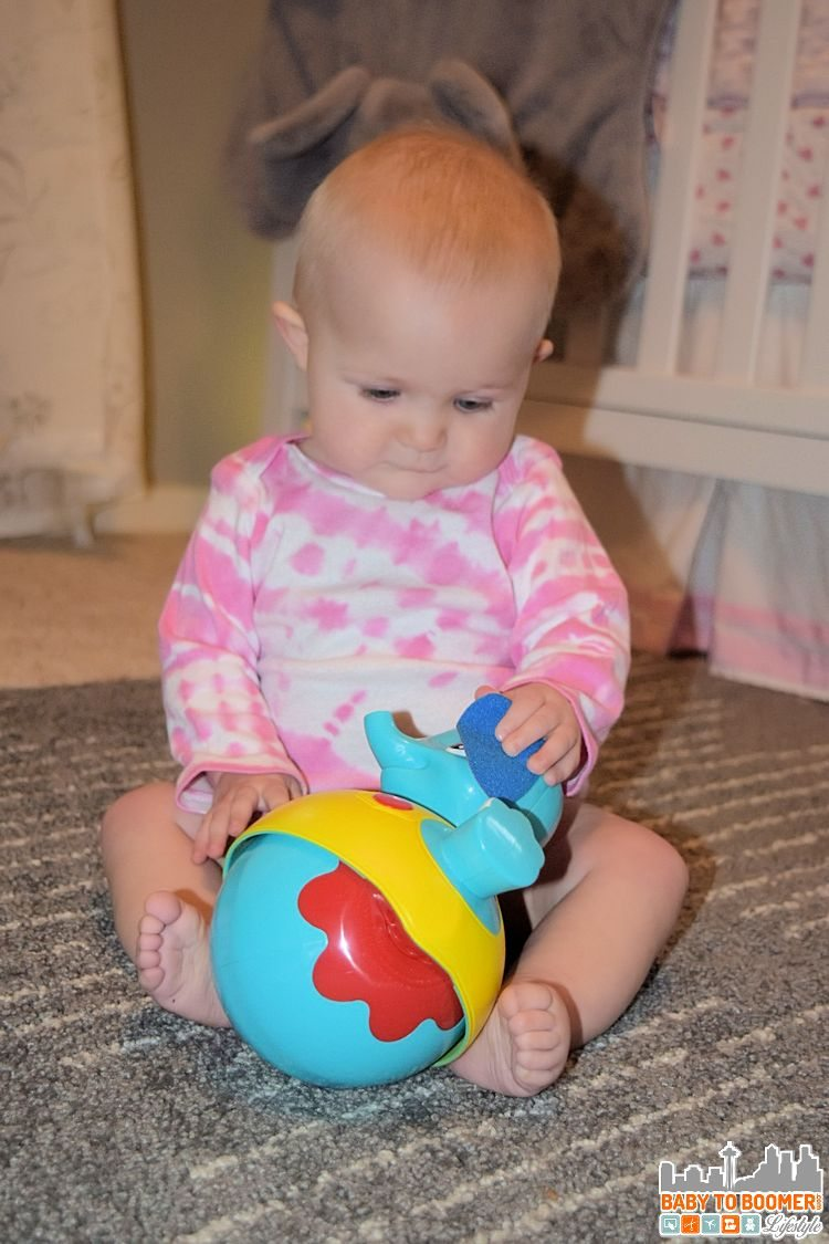 Rolly Poly Elephant Toy