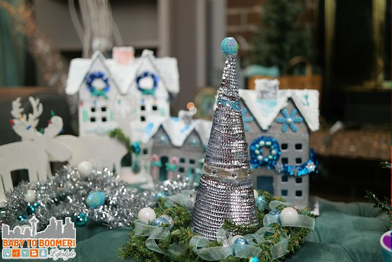 DIY Sequin Christmas Tree