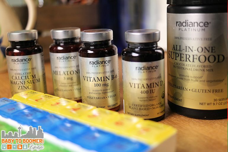 CVS Radiance PLATINUM Vitamins - ad