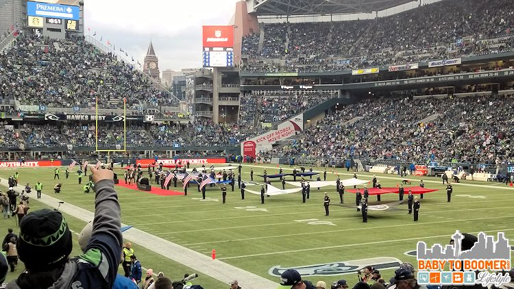 Seahawks Century Link - Nov 9, 2014 - Verizon NFL Experience at Touchdown City, CenturyLink Field #VZWBuzz #MoreSeattle ad