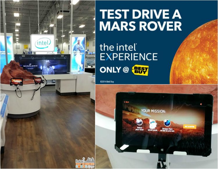 Test Drive Mars Rover Intel Experience - Intel Technology Experience Zones Brings Access to Inspiration at Best Buy @BestBuy #IntelatBestBuy - ad