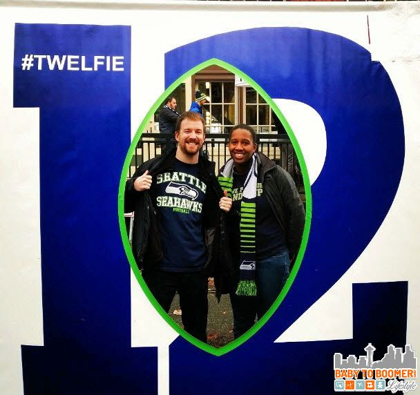 Twelfie - Verizon Experience at Touchdown City, CenturyLink Field #VZWBuzz #MoreSeattle ad