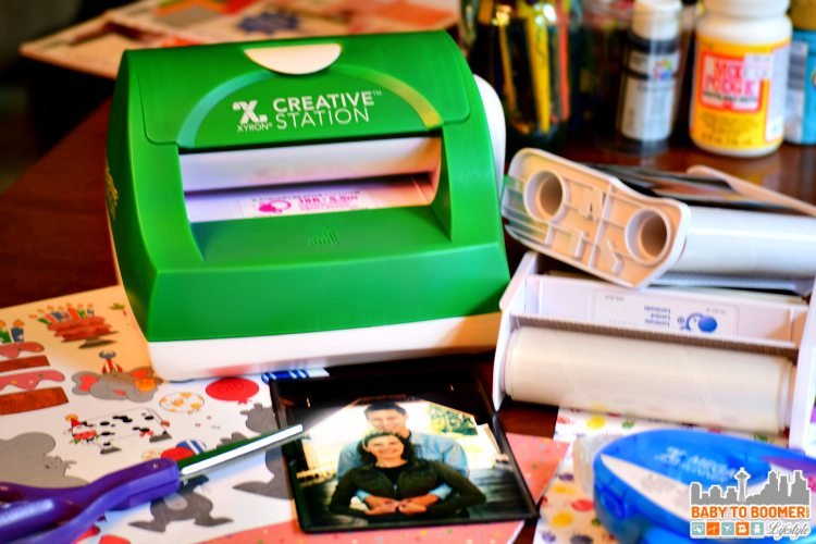 Xyron Creative Station - Laminate, Magnets, & Stickers - ad