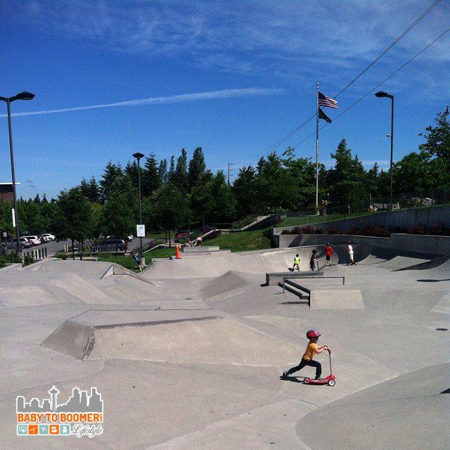 skate park - Razor Jr Mixi Scooter ad