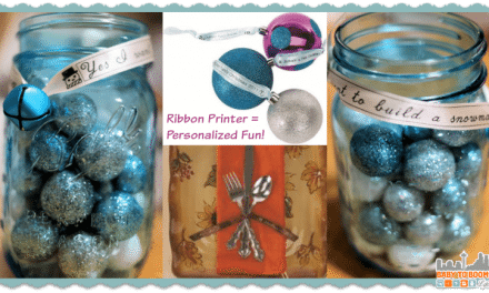Epson LabelWorks: Portable Ribbon Printer a Crafter's Dream