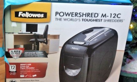 Fellowes Powershred M-12C: A Gift They'll Use All Year