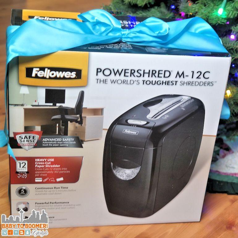 Fellowes Powershred M-12C Paper Shredder