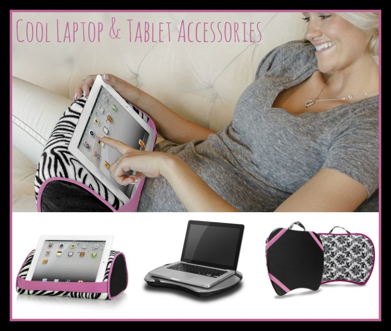 Must Have Tablet Accessories - LapGear LapDesk and Tablet Pillows - ad