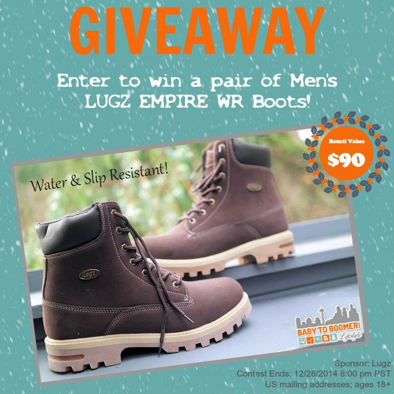 Lugz Boot Giveaway - ad