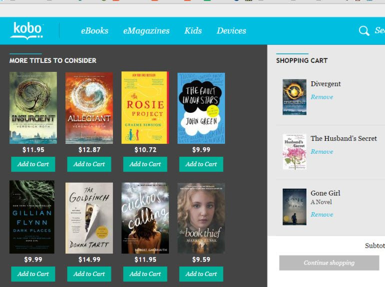 My Kobo Reading List - Kobo - Bestselling eBooks for 2014 Plus #Giveaway
