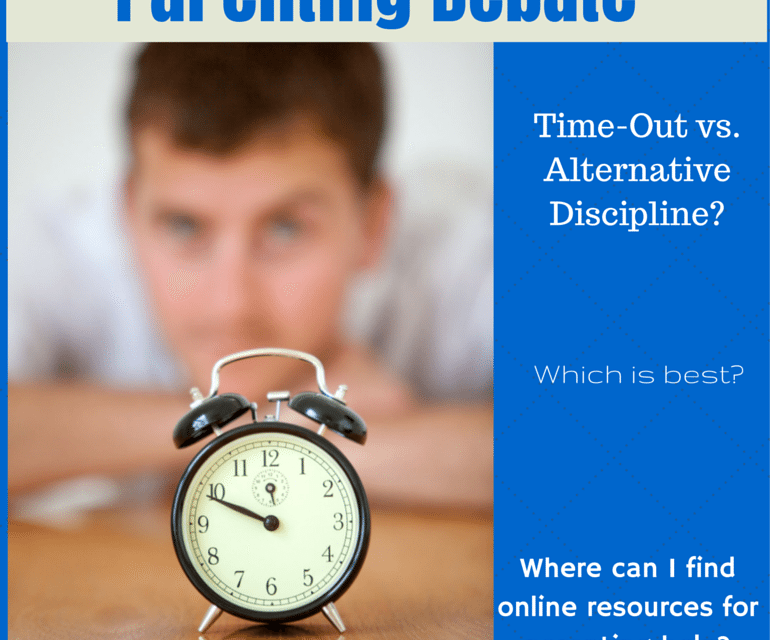 Parenting debate time out vs alternative discipline baby to