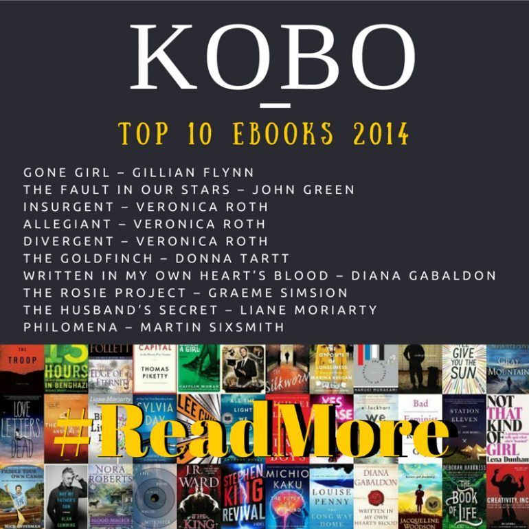 Kobo - Bestselling eBooks for 2014 Plus #Giveaway #ad