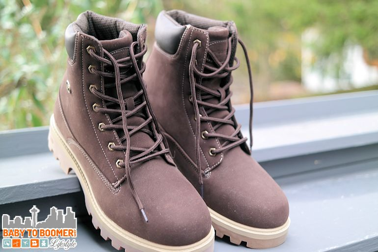 Lugz EMPIRE WR boots  (available in lo, mid and hi heights) - ad