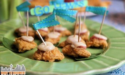 Chicken Cordon Bleu Appetizers in an Instant!