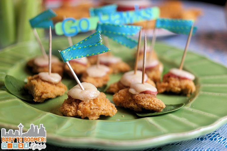 Chicken Cordon Bleu Appetizers in an Instant!